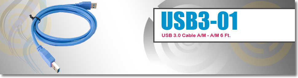 Computer Cables wholesale USB A Male to USB A Male